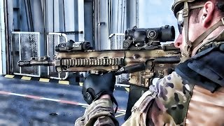 US Marines & French Commandos Marine • Small Arms Training
