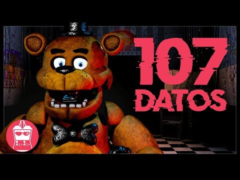 107 Datos Que DEBES Saber De Five Nights At Freddy's | AtomiK.O. #108