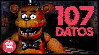 107 Datos que DEBES saber de Five Nights At Freddy's | AtomiK.O. #108