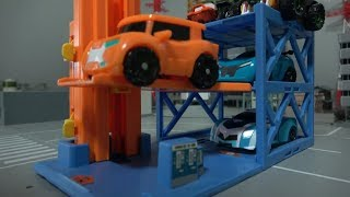 또봇 XY 엘리베이터 주차 장난감 놀이 Tobot XY Elevator Parking Toys Play