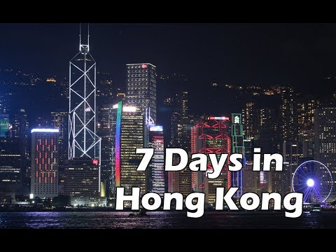 7 Days in Hong Kong - Asia Vacation 2016