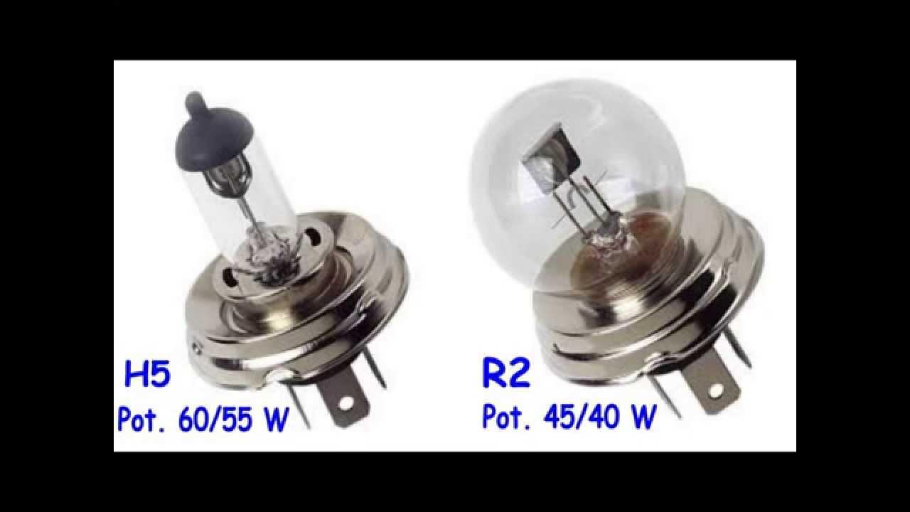 Lampada alogena h5 renault r4 youtube for Lampada alogena