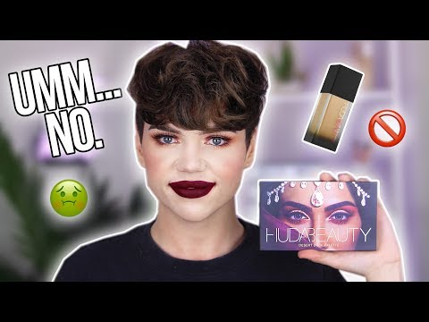 GIVING HUDA BEAUTY A SECOND CHANCE?!...lol SHOOK | Thomas Halbert