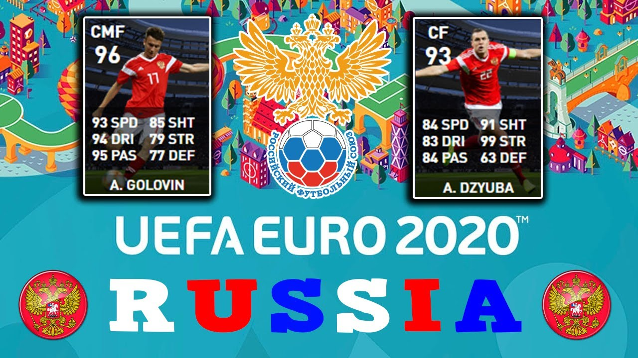06/07/20 🐻 Russia Team Selection 🐻 PES 2020 Mobile