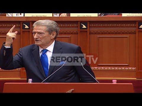 Report TV - Prova e parë e forcës mes Ruçit dhe Berishës