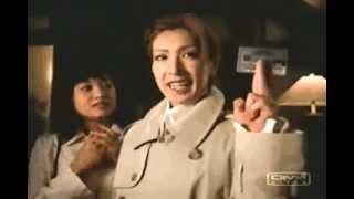 Osa's TVCM for Mitsui-Sumitomo VISA. Kakkoii desu ne. http://arista...