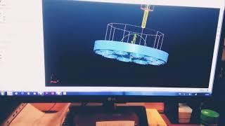 Работа Оператор ЧПУ/My work is Operator cnc on HAAS VF-3