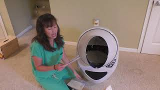 Veterinary Review of the Litter Robot Open Air self cleaning cat litter box: Part 2