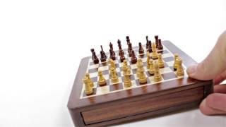 Produktvideo zu Magnet-Schachspiel Weible Schubfach