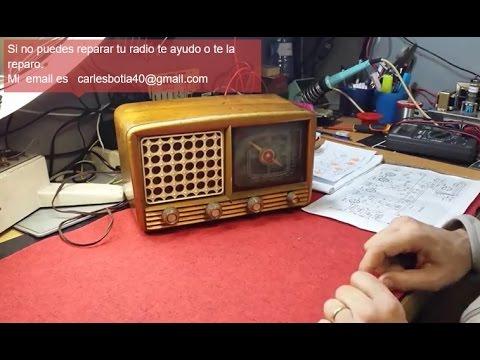 Metodo de reparación radio a válvulas.