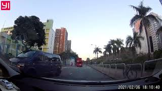 Publication Date: 2021-02-07 | Video Title: Crazy driving in Hong Kong 202