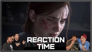 The Last Of Us Part II Trailer - PSX 2016 - Reaction Time!