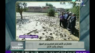 بيت الزكاة: قافلتان من الأزهر لمتضرري السيول.. فيديو