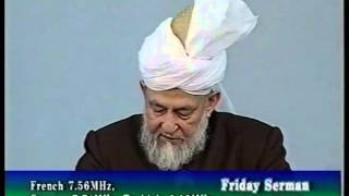 Friday Sermon 3 April 1998