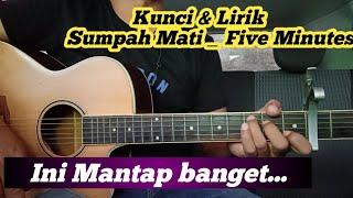 Download Chord Mudah ( Sumpah Mati  - Five Minutes )  By Darmawan Gitar ( Tutorial)