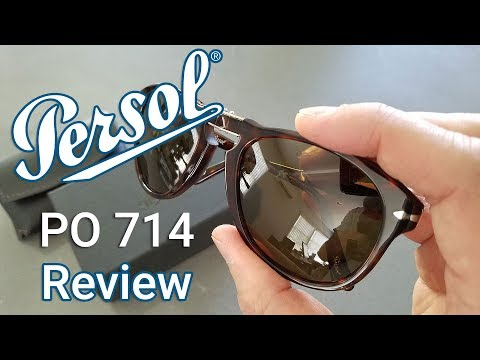 Persol 714 Sunglasses: Unboxing & Review in 4K