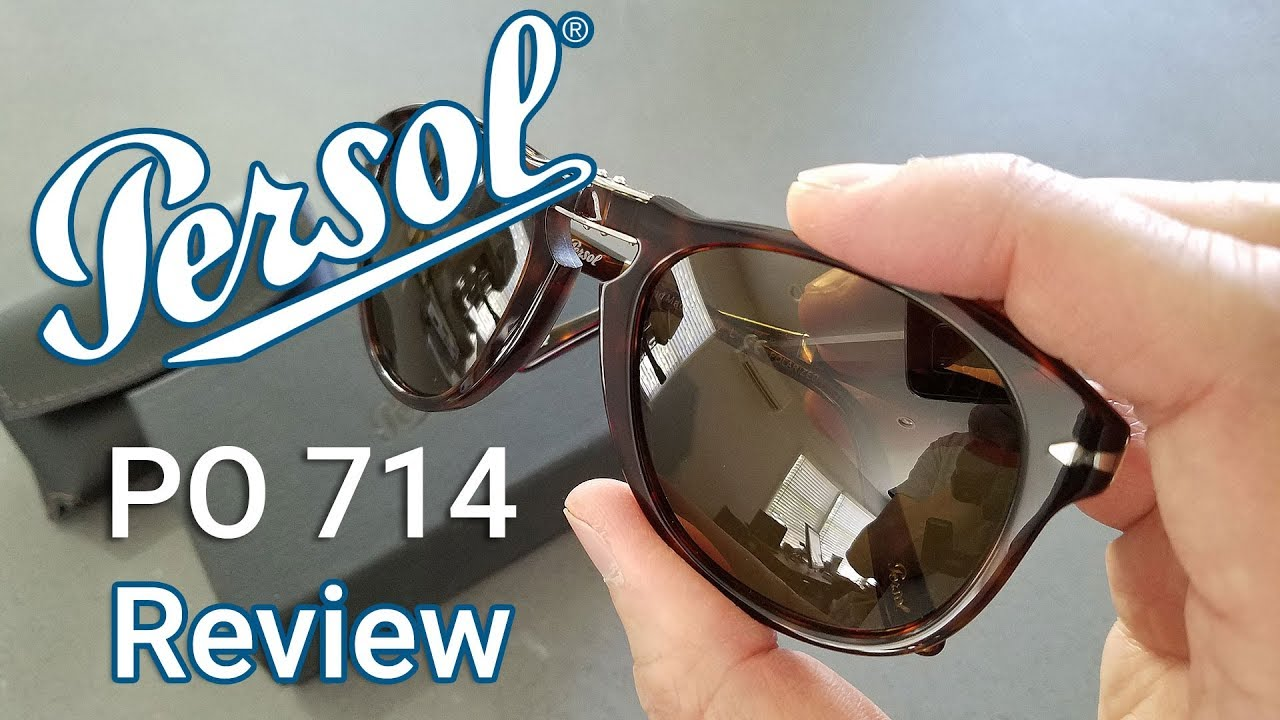 b95ba58068 Persol 714 Sunglasses  Unboxing   Review in 4K - YouTube