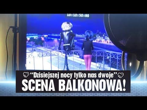 """Scena Balkonowa: """"Dzisiejszej nocy tylko nas dwoje""""   Miraculum: SEZON 2 #Marichat"""