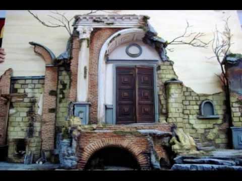 Creazione di un Presepe Napoletano Settecentesco by www
