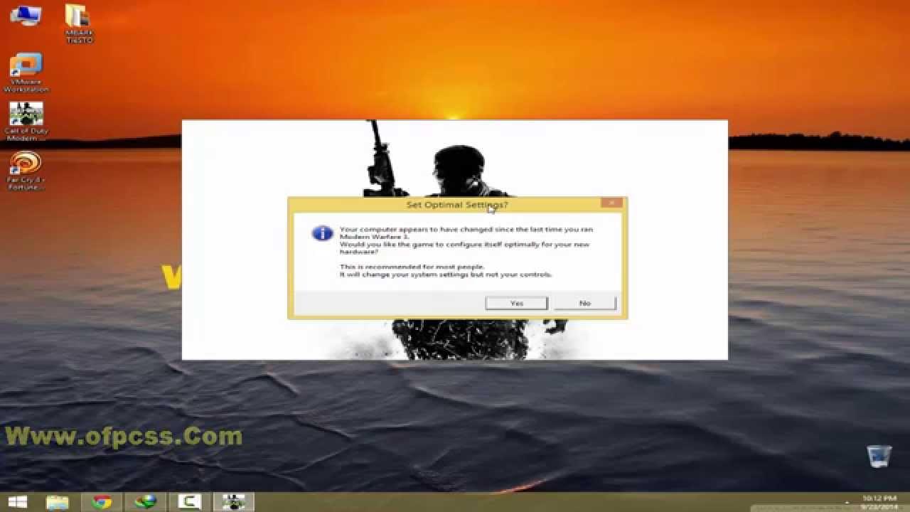 Modern Warfare 3 Couldn't Write a File. The Hard Drive is Probably Full Hatası