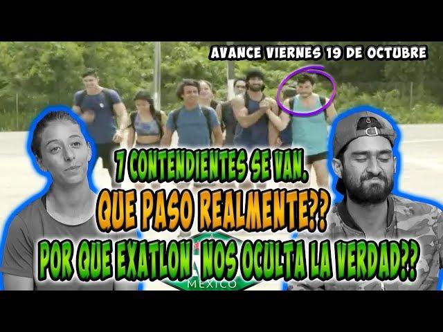 7 CONTENDIENTES DEJAN LA COMPETENCIA, QUE PASÓ REALMENTE |AVANCE VIERNES 19 DE OCTUBRE