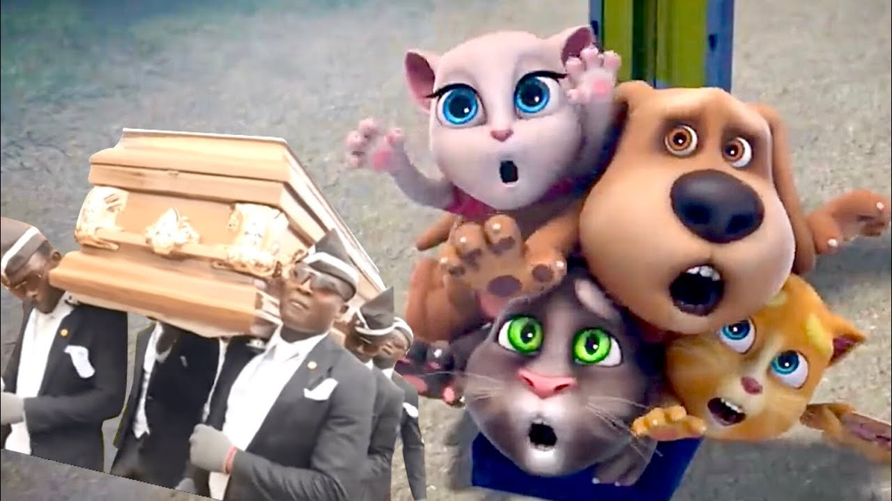 Talking Tom and Friends Coffin Dance Meme 14