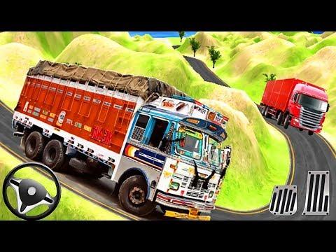 भारतीय ट्रक चालक कार्गो ड्यूटी - Offroad ट्रक ड्राइविंग - एंड्रॉयड गेमप्ले thumbnail