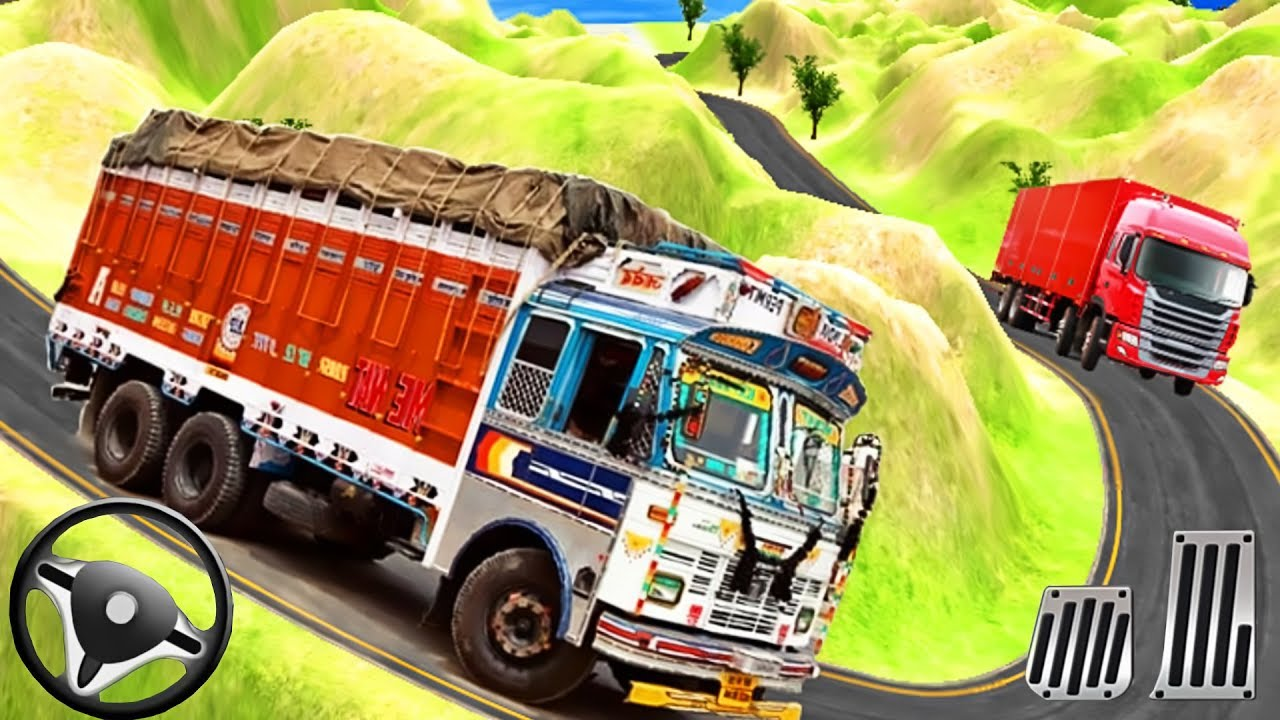 Indian Truck Driver Cargo Duty Offroad Truck Driving Android