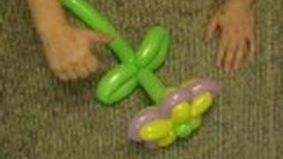 Цветок из шаров для моделирования./Flowers of balloons.Твистинг✿