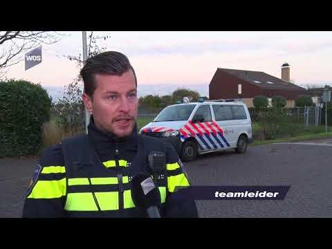 Verlichtingscontrole politie in Naaldwijk