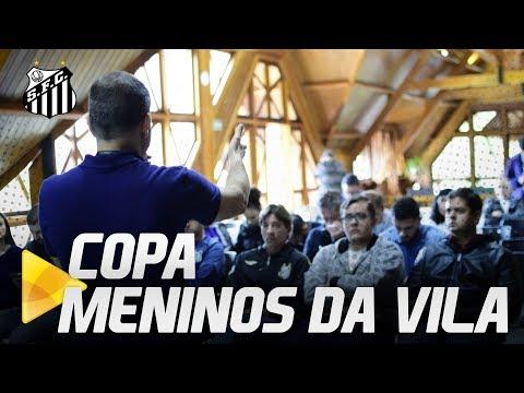 LANÇAMENTO DA COPA MENINOS DA VILA!