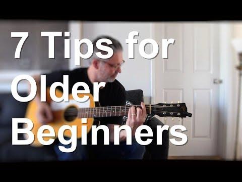 7 Tips for Older Beginners | Tom Strahle | Easy Guitar | Basic Guitar