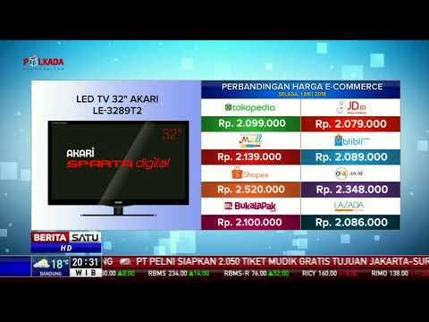 Perbandingan Harga E Commerce Led Tv 32 Akari Youtube