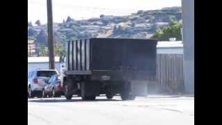 Lot #0102: 1993 Isuzu NPR Turbo Diesel Dump Bed Truck