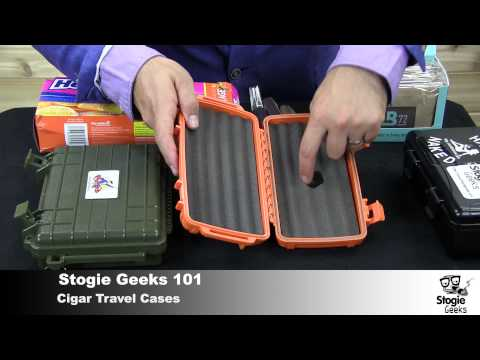 Cigar Travel Cases - Stogie Geeks 101