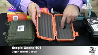 Cigar Travel Cases - Stogie Geeks 101