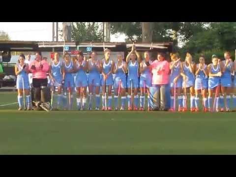 Hockey - Himno de Uruguay - Liga Mundial en Montevideo