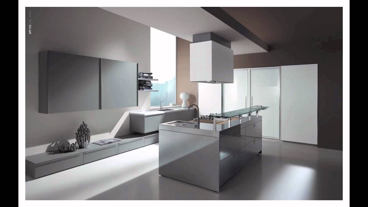 Cuisiniste cuisine moderne design mt150 youtube for Decoration cuisine moderne