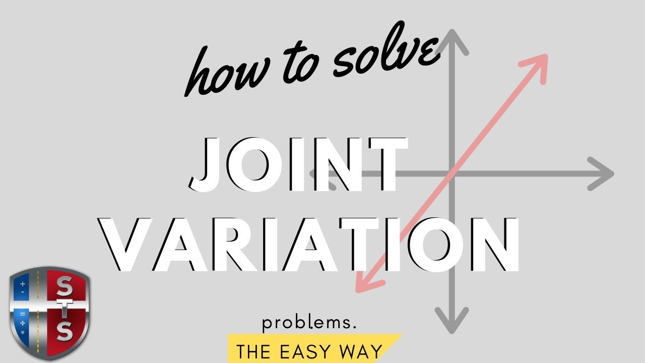 Math Analysis - Solve joint variation equation y=kxz - YouTube