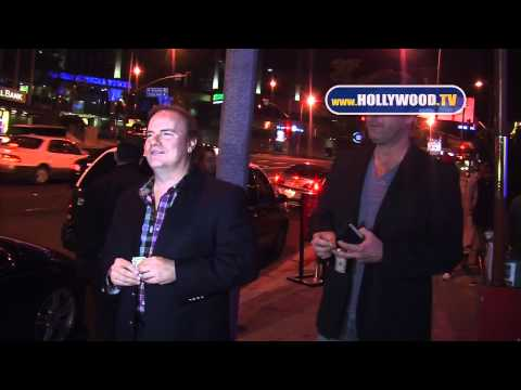 Kevin P. Farley chats with the paparazzi at BOA Steakhouse