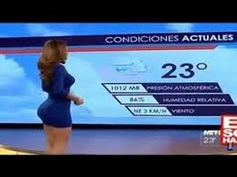 اجمل مذيعات مكسيكيات جميلات فى نشرات الاخبار الجوية