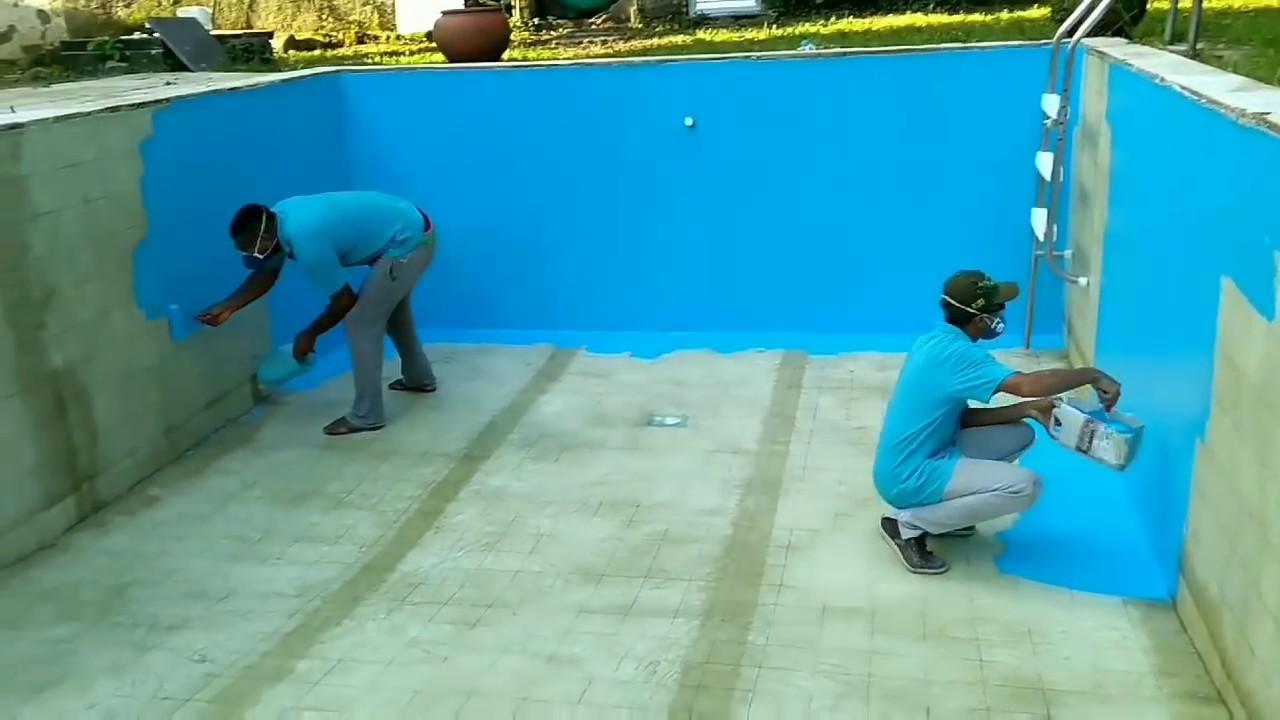 Piscina De Azulejos Transformada Em Fibra De Vidro Barra Da Tijuca Rj Equipe Mmpiscinas Youtube