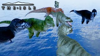 T.Rex Hunting!  - The Isle