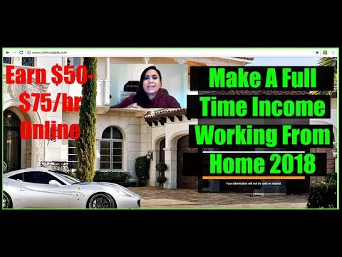 Work From Home Online Jobs 2018 - Legitimate Ways To Work From Home 2018 - Earn $100 A Day Online