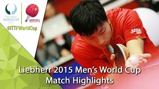 2015 Men's World Cup Highlights: MA Long vs ASSAR Omar (R16)