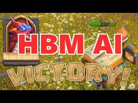 Castle Clash - HBM AI With Base And Heroes!