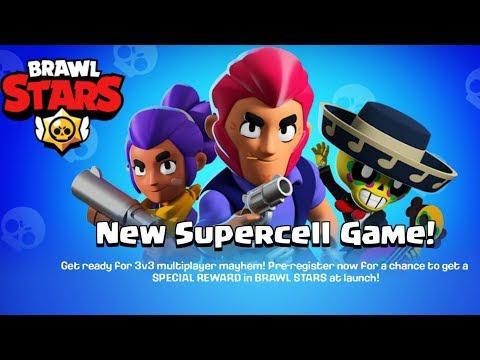 BRAWL STARS SUPERCELL NEW GAME, PRE REGISTER NOW