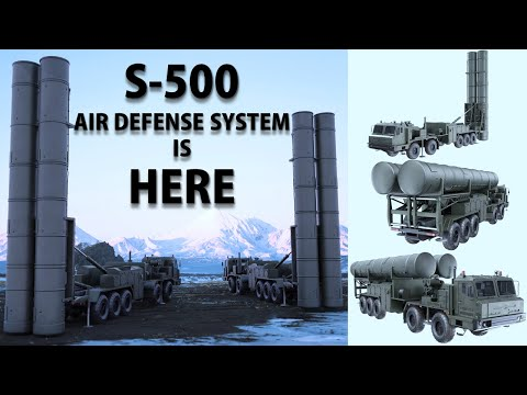 The New Russian S-500 Air Defense System is Here