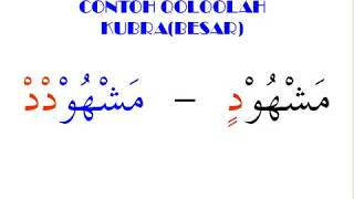 Tajwid, Hukum Membaca Qolqolah- Ari RKM- Contoh DVD Tutorial Tajwid