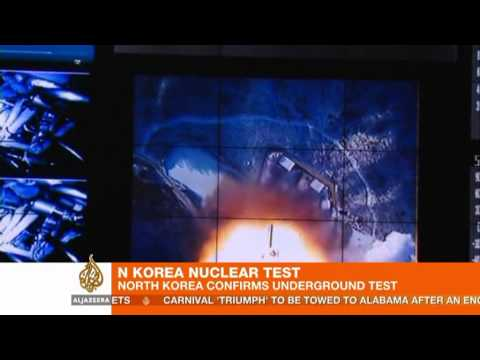 North Korea conducts nuclear test